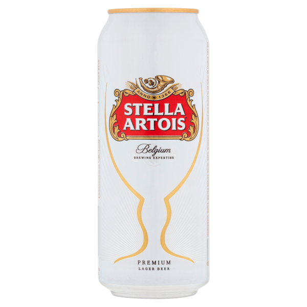 Stella Artois Can 500ml