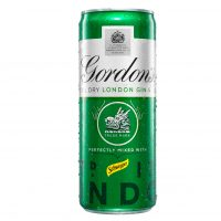 Gordons gin and tonic