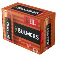 Bulmers 6 pack can