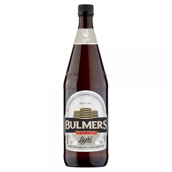 Bulmers_Irish_Cider_Light_1L