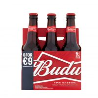 Budweiser 6 Pack Bottle 330ml