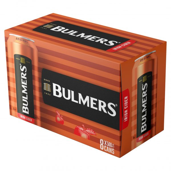 Bulmers Original 8 Pack Can