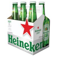 Heineken Light 6 Pack 330ml Bottle