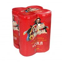 Captain Morgan 4 Pack 250ml Can