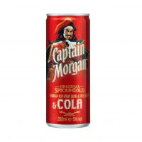Captain Morgan & Cola 250ml Can