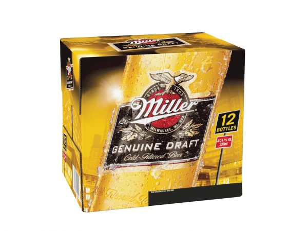 Miller 12 Pack 330ml Bottle